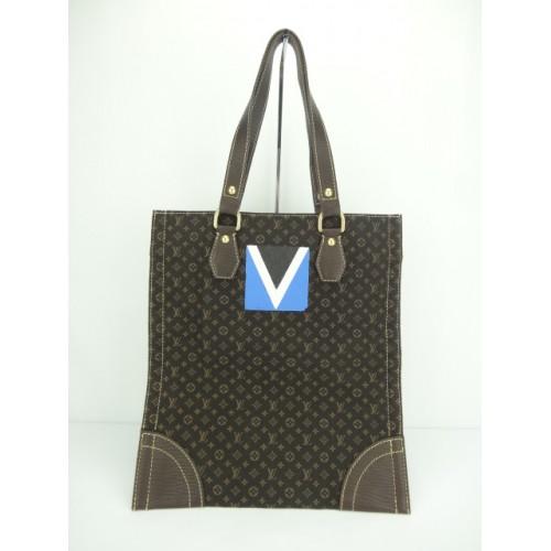 506795fb10fc Promotion) Louis Vuitton Mini Lin Tanger Sac Plat (Lit. Edi)