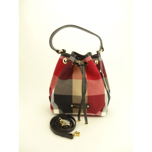 3caab47adde9 SOLD(已出售) (NEW) Burberry Blue Label Crestbridge Check Bucket Bag ...