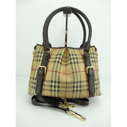 4a62105dc495 Promotion) Burberry Haymarket Check  Northfield  Small Tote