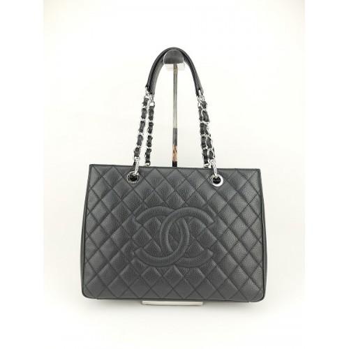 6a99aae4d3bf02 Chanel Caviar Shopping Bag.
